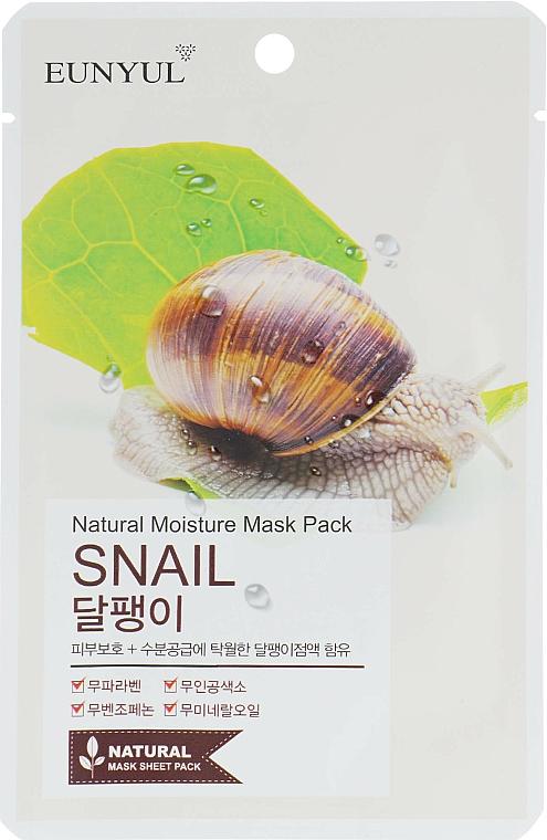 Snail Mucin Sheet Mask - Eunyul Natural Moisture Mask Pack