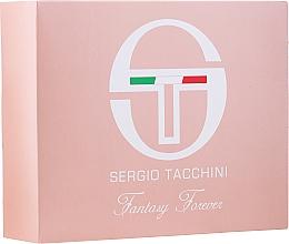 Fragrances, Perfumes, Cosmetics Sergio Tacchini Fantasy Forever - Set (edt/50ml + bag/1pc)