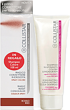Fragrances, Perfumes, Cosmetics Set - Collistar Special Perfect Hair Magic Root Concealer Red (shm/100 ml + concealer/75ml)
