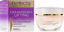 Fragrances, Perfumes, Cosmetics Anti-Aging Face Cream - Perfecta Ceramid Lift 70+ Face Cream