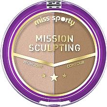 Fragrances, Perfumes, Cosmetics Contour Palette - Miss Sporty Mission Sculpting