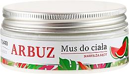 "Fragrances, Perfumes, Cosmetics Body Mousse ""Watemelon"" - Mohani Wild Garden"