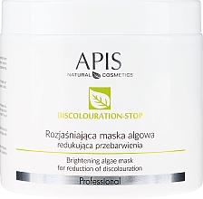 Fragrances, Perfumes, Cosmetics Brightening Face Mask - APIS Professional Discolouration-Stop