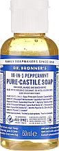 "Fragrances, Perfumes, Cosmetics Liquid Soap ""Mint"" - Dr. Bronner's 18-in-1 Pure Castile Soap Peppermint"