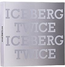 Fragrances, Perfumes, Cosmetics Iceberg Twice Homme - Set (edt/125ml +acs)