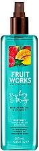 Fragrances, Perfumes, Cosmetics Raspberry & Mango Body Scrub - Grace Cole Fruit Works Raspberry & Mango Body Mist