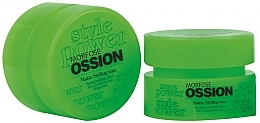 Fragrances, Perfumes, Cosmetics Mattifying Hair & Beard Wax - Morfose Ossion Matte Styling Wax Strong Holding Effect