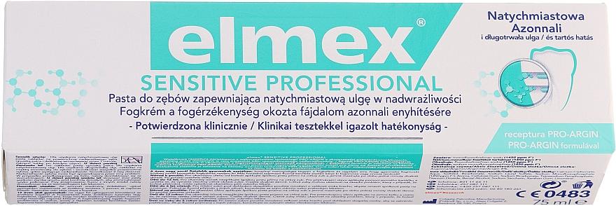 Toothpaste - Elmex Professional Sensitive Toothpaste
