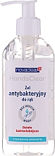 Fragrances, Perfumes, Cosmetics Antibacterial Hand Gel with Hyaluronic Acid - Novaclear Hands Clear