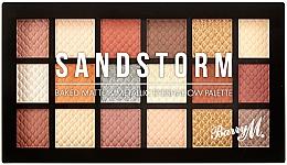 Fragrances, Perfumes, Cosmetics Eyeshadow Palette - Barry M Eyeshadow Palette Sandstorm