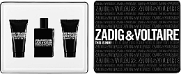 Fragrances, Perfumes, Cosmetics Zadig & Voltaire This is Him - Set (edt/50ml + sh/g/50ml + sh/g/50ml)