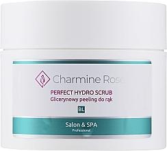 Fragrances, Perfumes, Cosmetics Glycerin Hand Scrub - Charmine Rose Perfect Hydro Scrub