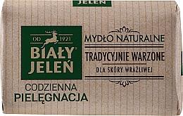 Fragrances, Perfumes, Cosmetics Hypoallergenic Natural Soap - Bialy Jelen Hypoallergenic Natural Soap Premium