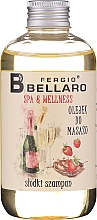 "Fragrances, Perfumes, Cosmetics Massage Oil ""Champagne"" - Fergio Bellaro Massage Oil Sweet Champagne"