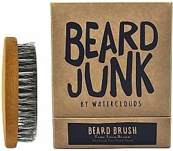 Fragrances, Perfumes, Cosmetics Beard Brush - Waterclouds Beard Junk Beard Boar Bristle Brush