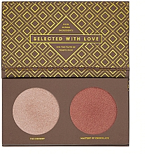 Fragrances, Perfumes, Cosmetics Highlighter Palette - Zoeva Cocoa Blend Highlighter