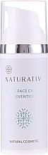 Fragrances, Perfumes, Cosmetics Night Face Cream - Naturativ Facial Night Cream 30+