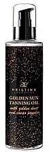 Fragrances, Perfumes, Cosmetics Golden Sun Tanning Oil - Hristina Cosmetics Golden Sun Tanning Oil