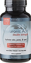 """Fragrances, Perfumes, Cosmetics Hyaluronic Acid """"Natural Moisturizer"""", 60 capsules - NeoCell Hyaluronic Acid Double Strength"""