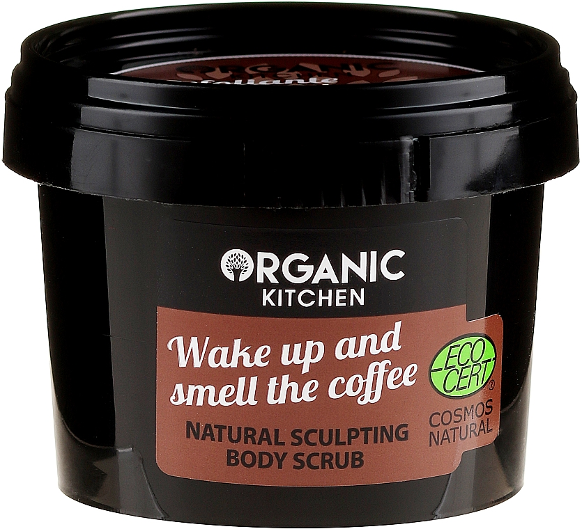 "Body Scrub ""Wake Up & Smell the Coffee"" - Organic Shop Organic Kitchen Body Scrub"