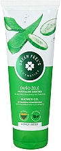 Fragrances, Perfumes, Cosmetics Aloe & Cucumber Extracts Shower Gel - Green Feel's Shower Gel With Aloe & Cucumber Extracts