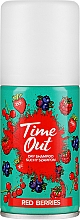 Fragrances, Perfumes, Cosmetics Hair Dry Shampoo - Time Out Dry Shampoo Red Berries