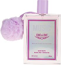 Fragrances, Perfumes, Cosmetics Chic&Love Music - Eau de Toilette
