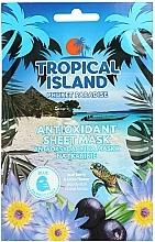Fragrances, Perfumes, Cosmetics Face Sheet Mask - Marion Tropical Island Phuket Paradise Antioxidant Sheet Mask