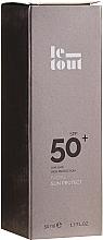Fragrances, Perfumes, Cosmetics Protection Facial Sun Cream SPF 50 - Le Tout Facial Sun Protect