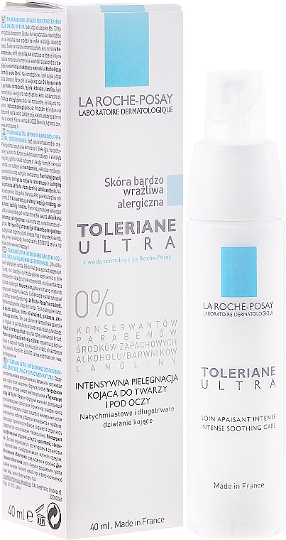Daily Care for Hypersensitive and Allergy-Prone Skin - La Roche-Posay Toleriane Ultra Intense Soothing Care