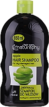 Fragrances, Perfumes, Cosmetics Shampoo for Dry and Damaged Hair 'Apple' - Bluxcosmetics Naturaphy Apple Hair Shampoo