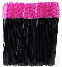 Fragrances, Perfumes, Cosmetics Silicone Spoolie, black-pink - Novalia Group