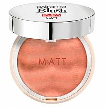 Fragrances, Perfumes, Cosmetics Compact Matte Blush - Pupa Extreme Blush Matt