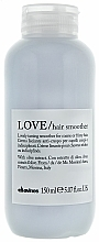 Fragrances, Perfumes, Cosmetics Smoothing Hair Cream - Davines Love Lovely Taming Smoother Cream