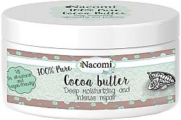 Fragrances, Perfumes, Cosmetics Cocoa Butter - Nacomi Natural Kakao Butter
