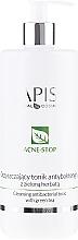 Fragrances, Perfumes, Cosmetics Green Tea Face Tonic - APIS Professional Cleansing Antibacterial Tonic