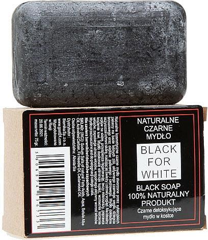 Natural Black Soap - Biomika Black For White