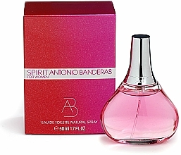 Fragrances, Perfumes, Cosmetics Spirit Antonio Banderas for Woman - Eau de Toilette (mini size)