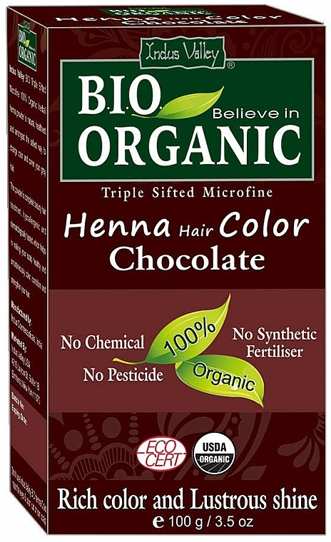 Natural Hair COlor - Indus Valley Henna Hair Color