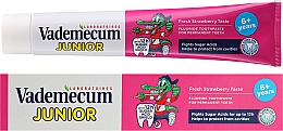 Fragrances, Perfumes, Cosmetics Kids Toothpaste with Fresh Strawberry Scent - Vademecum Junior Strawberry Toothpaste