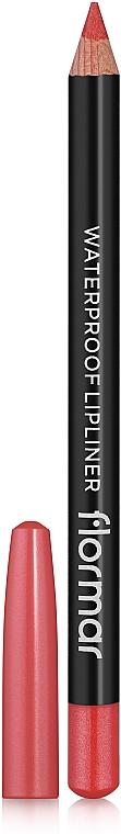 Waterproof Lip Pencil - Flormar Waterpoof Lipliner