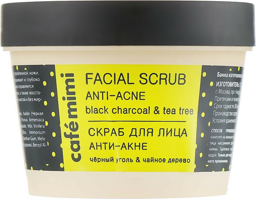 "Face Scrub ""Anti-Acne"" - Cafe Mimi Facial Scrub Anti-Acne"