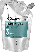 Fragrances, Perfumes, Cosmetics Softening Cream for Damaged Hair - Goldwell Structure + Shine Agent 1 Soft 3