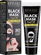 "Fragrances, Perfumes, Cosmetics Black Face Mask ""Pro-Collagen"" - Revuele Black Mask Peel Off Pro-Collagen"
