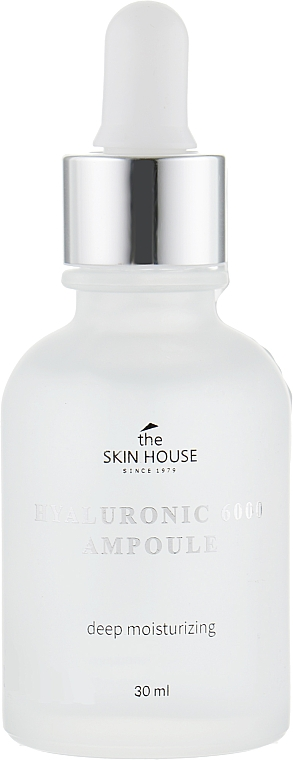 Moisturizing Hyaluronic Acid Ampoule Serum - The Skin House Hyaluronic 6000 Ampoule — photo N2