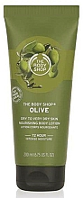 Fragrances, Perfumes, Cosmetics Body Lotion - The Body Shop's Olive Body Lotion
