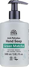 Fragrances, Perfumes, Cosmetics Hand Soap - Urtekram Green Matcha Anti-Pollution Liquid Hand Soap