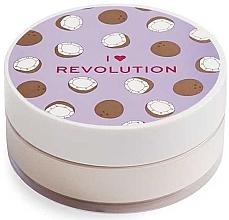 Fragrances, Perfumes, Cosmetics Face Baking Powder Coconut - I Heart Revolution Loose Baking Powder Coconut