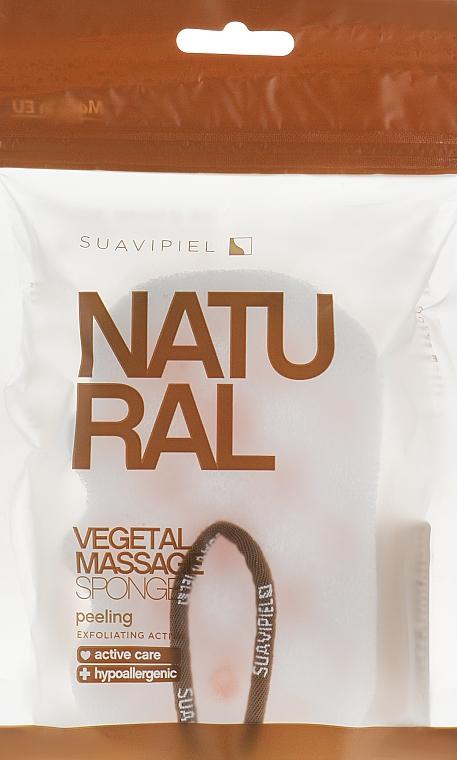 Massage Sponge, cellulose-polyurethane - Suavipiel Natural Vegetal Massage Sponge