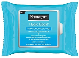 Fragrances, Perfumes, Cosmetics Cleansing Wet Wipes - Neutrogena Hydro Boost